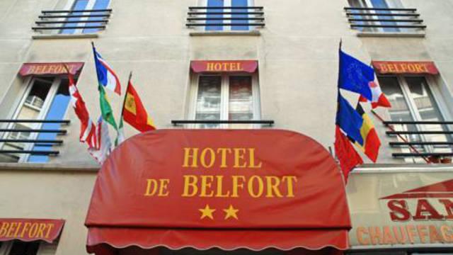 Entree Hotel De Belfort
