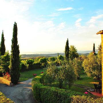 Uitzicht Appartementen Borgo di Collelungo