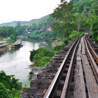 Thamkrasae Bridge, River Kwai
