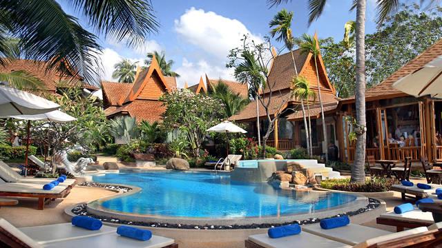 Zwembad Thai House Beach Resort