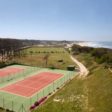 Tennisbanen Axis Ofir Beach Resort