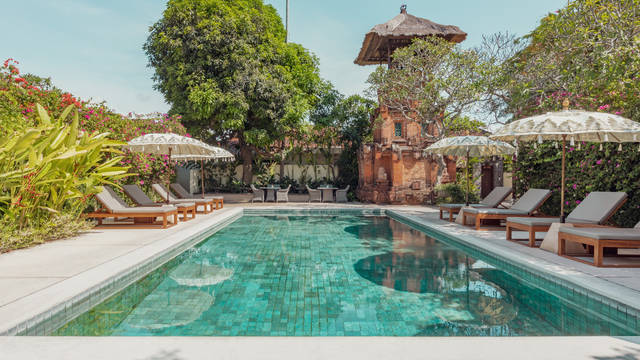 Zwembad The Pavilions Bali