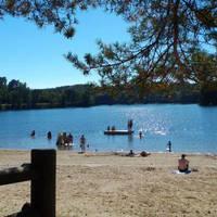 Camping lac du Causse