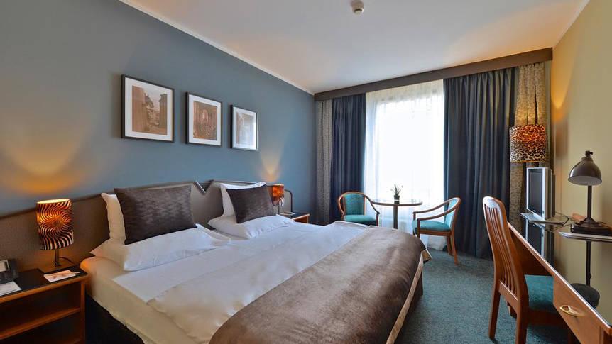 Voorbeeld kamer Hotel Plaza Prague