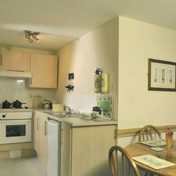 Voorbeeld keuken 3-kamerwoning Kiltarlity Lodges