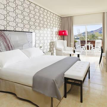 Voorbeeldkamer standaard zeezicht H10 Timanfaya Palace - Adults Only