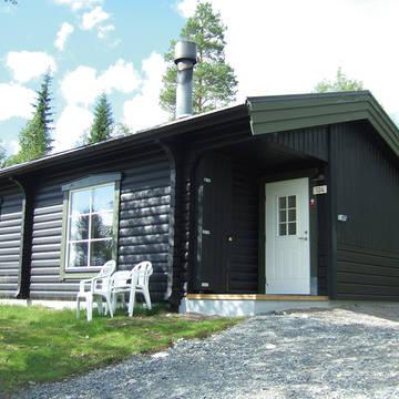 Voorbeeld exterieur vakantiewoning Idre Fjäll Vakantiepark