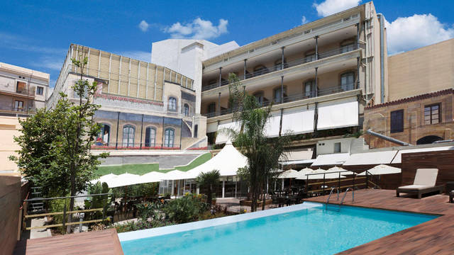 Zwembad Hotel Catalonia Portal De L'Angel