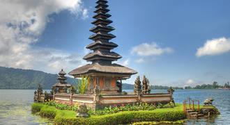 Ulun Danu Tempel op Bali