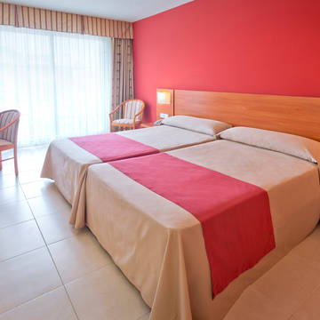 Voorbeeld tweepersoonskamer Hotel Montemar Maritim