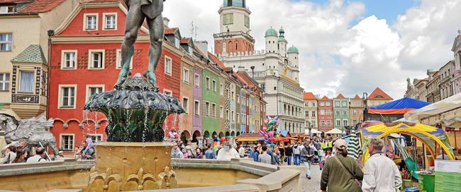 Poznan marktplein