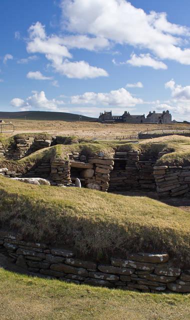 11-daagse busrondreis of 9-daagse vlieg-busrondreis Orkney en Shetland Eilanden