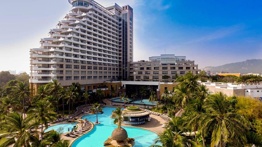 Hilton Hua Hin Resort & Spa - Buitenaanzicht Hilton Hua Hin Resort & Spa