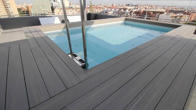 Zwembad Hotel Barcélo Valencia