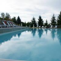 Zwembad namiddag