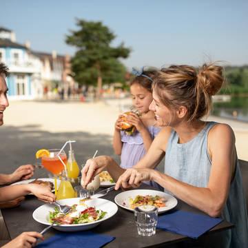 Culinair genieten Vakantiepark Center Parcs Le Lac d'Ailette