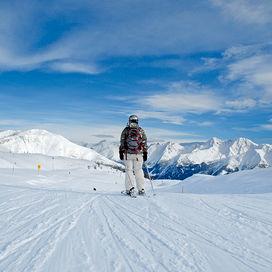 Wintersport sneeuwzekere skigebieden