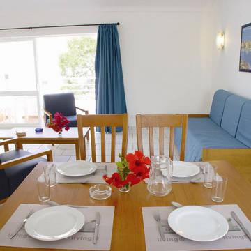Woonvoorbeeld Appartementen Oura Atlantico