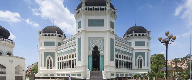 Medan Grand moskee