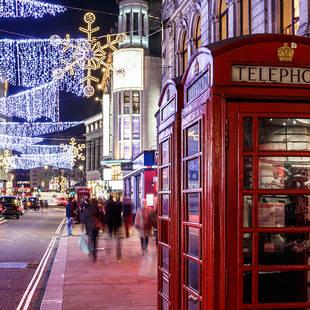 Londen Kerstverlichting
