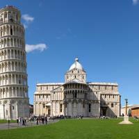 Toren van Pisa op ca. 10 minuten wandelen