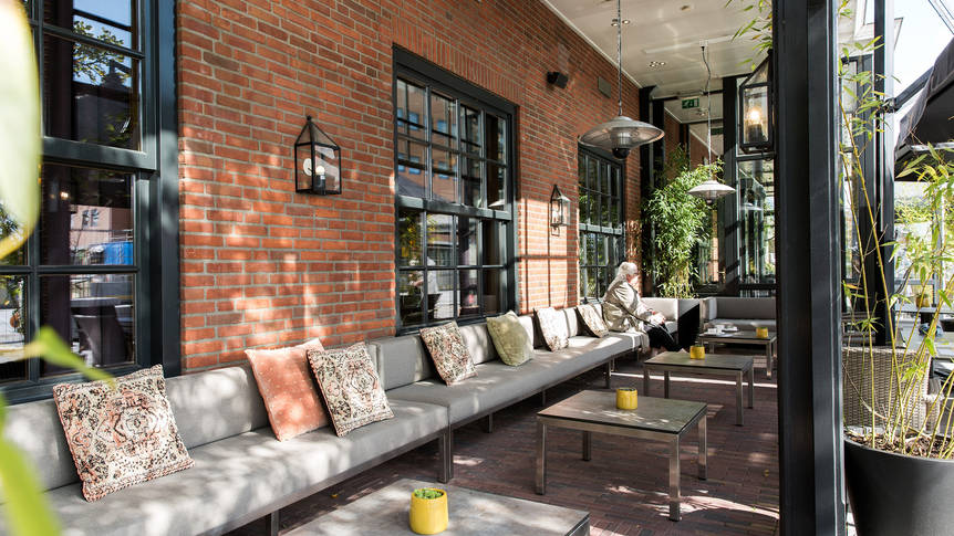 Lounge Oranje Hotel Leeuwarden