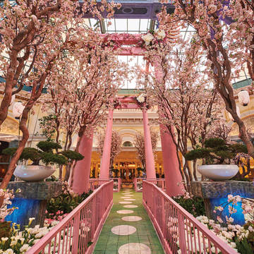 Botanische tuin Hotel Bellagio