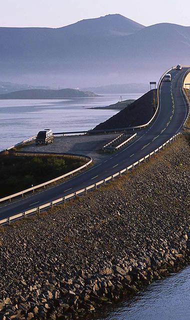10-daagse autorondreis inclusief ferry-overtochten Noors Panorama