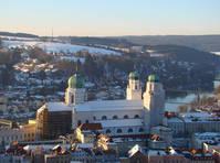 Passau in de winter