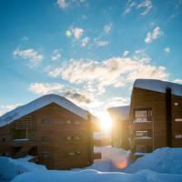 Zonsondergang - - Foto: Sverre F. Hjørnevik