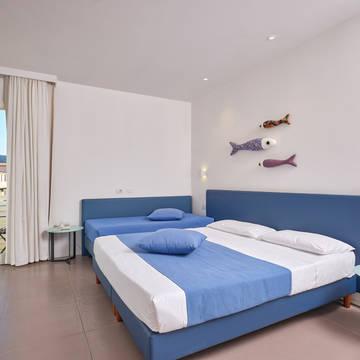 Voorbeeld slaapkamer Residence Hotel Porto San Paolo