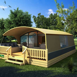 Artist impression Lodgetent Holiday