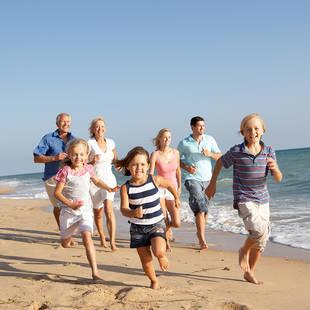 Strand familie