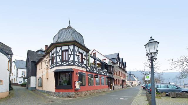 Buitenaanzicht Hotel Ellenzer Goldbäumchen
