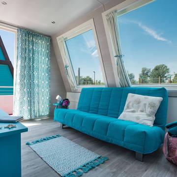 Voorbeeld woonboot Marina Azzurra Resort