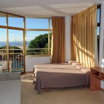 Woon- en slaapkamer Appartementen Alegria Bolero Park