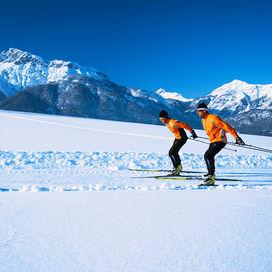 Wintersport Langlaufen