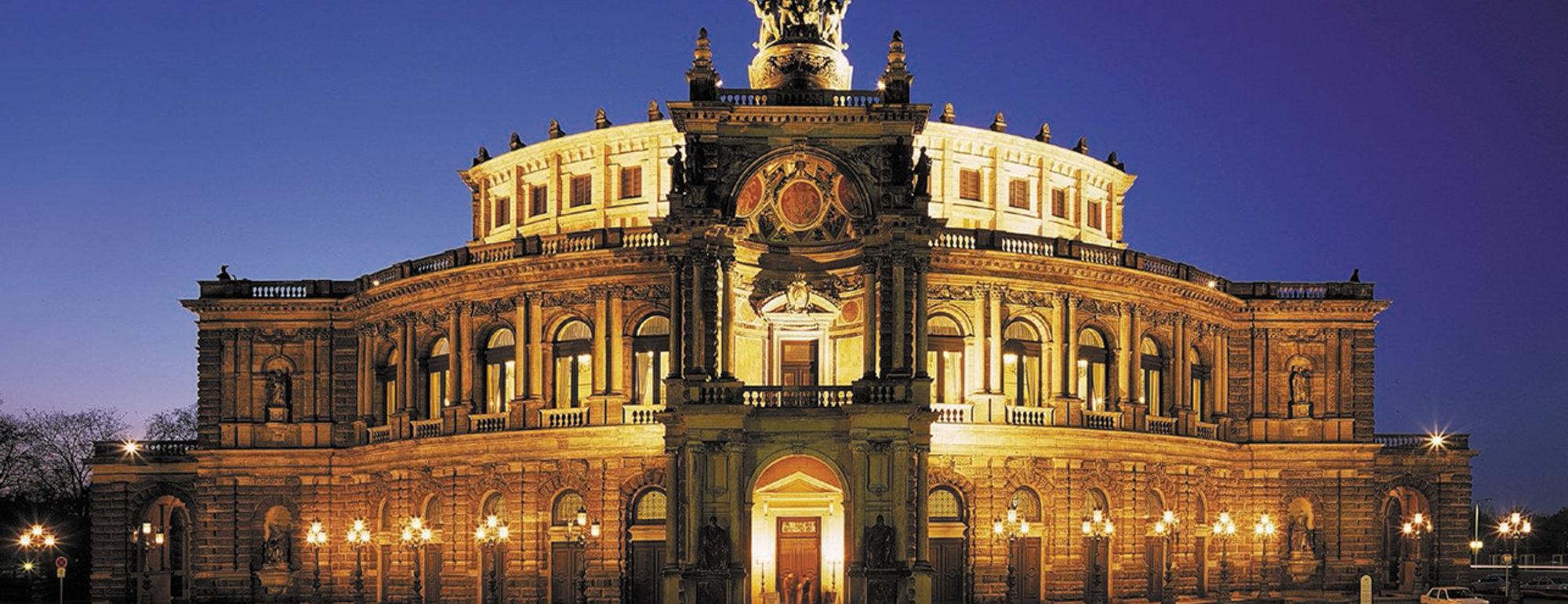 Semper Opera gebouw Dresden