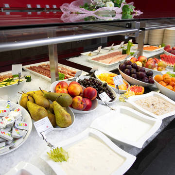 Ontbijt buffet Thermal hotel