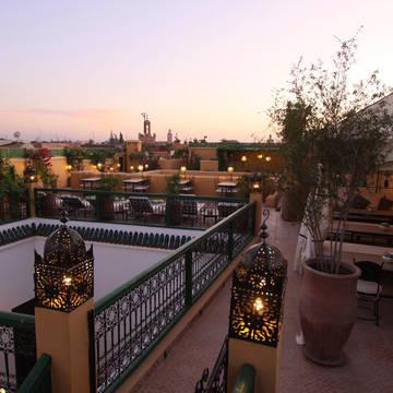 Dakterras Hotel Riad Karmela