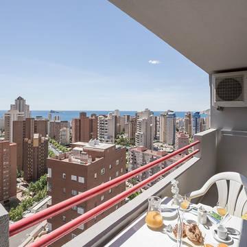 Balkon Appartementen Pierre & Vacances Benidorm Levante