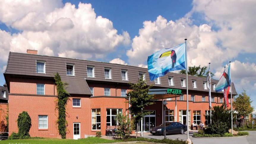 Buitenaanzicht Landhotel Spornitz