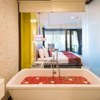 Voorbeeld Grand Deluxe Kamer - badkamer