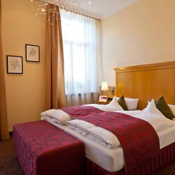 2-persoonsbed Hotel Deutscher Hof