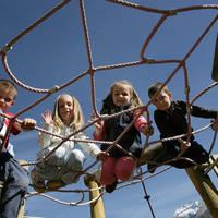 Kinderen in het Saasdal