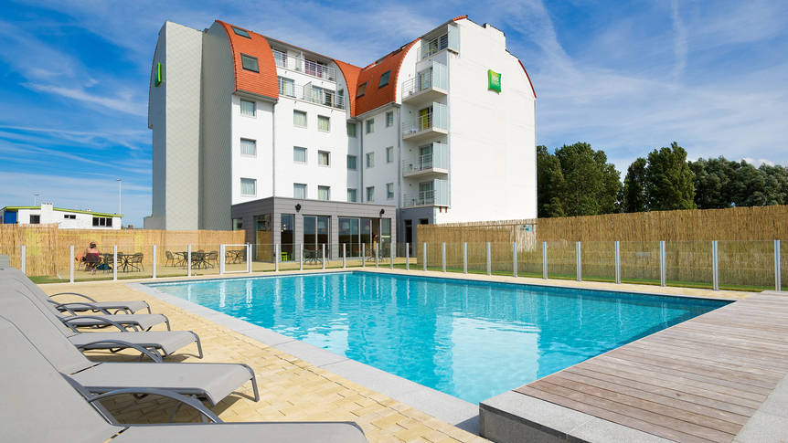 Buitenaanzicht Hotel Ibis Styles Zeebrugge