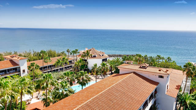 Ligging Hotel Parque Tropical