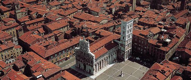 Bovenaanzicht Lucca
