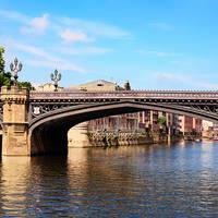 York - brug over de Ouse rivier