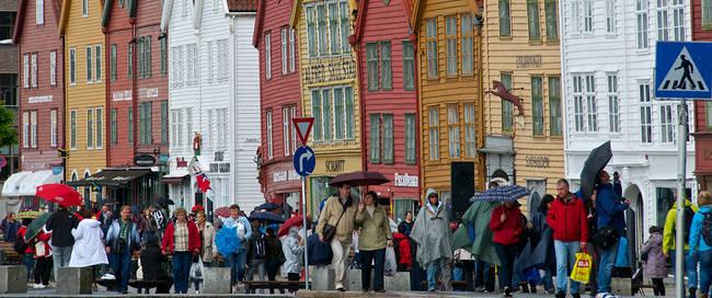 Bergen Bryggen - Fotograaf: Øyvind Heen